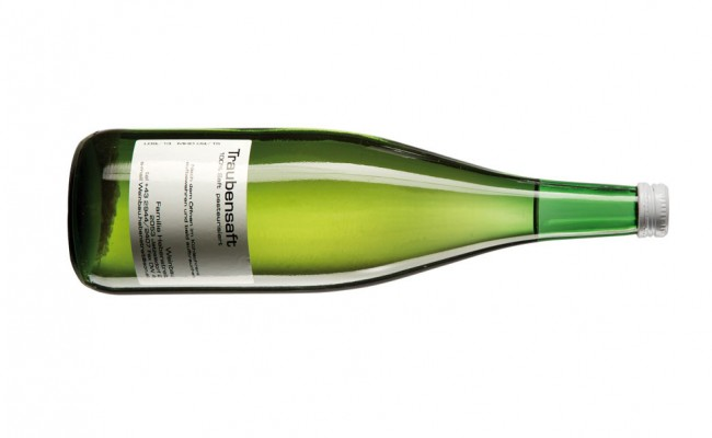 Bottle with white wine isolated. With clipping path